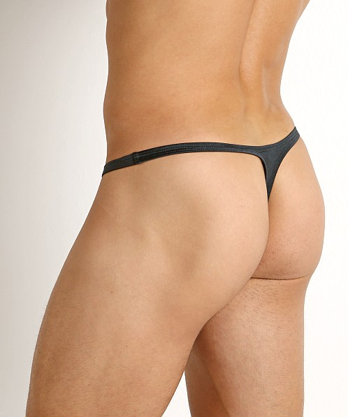 Rick Majors Power Spandex Thong Charcoal