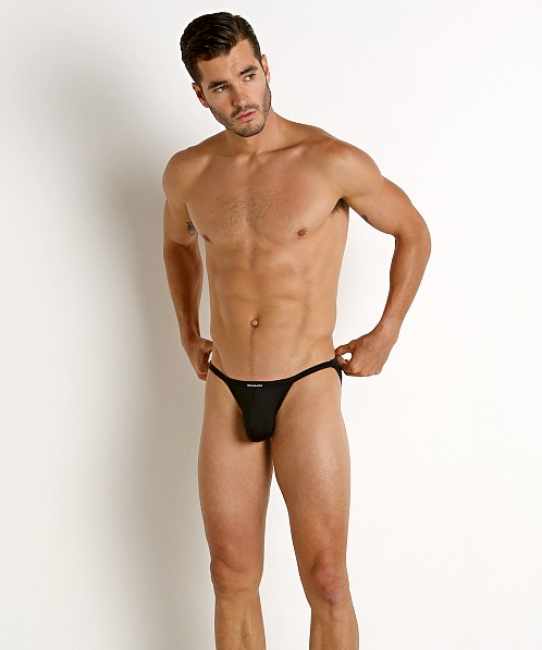 Rick Majors Power Spandex Sports Brief Black