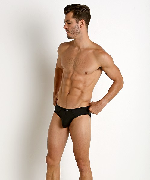Rick Majors Power Spandex Hip Brief Black