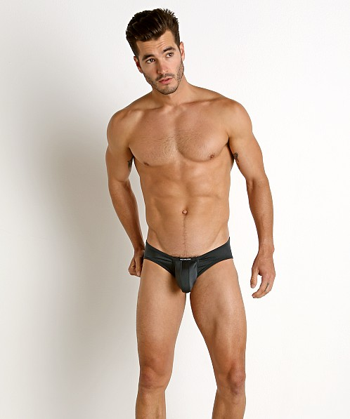 Rick Majors Power Spandex C-Ring Brief Charcoal
