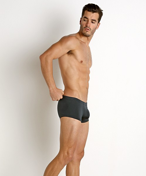 Rick Majors Power Spandex Trunk Charcoal