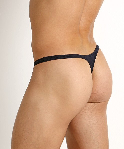 Rick Majors UltraLite Stretch Cotton Thong Navy