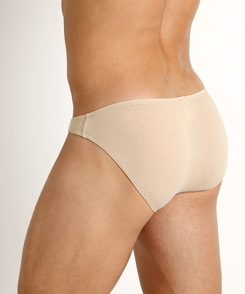 Rick Majors UltraLite Stretch Cotton Super Low Rise Bikini Tan