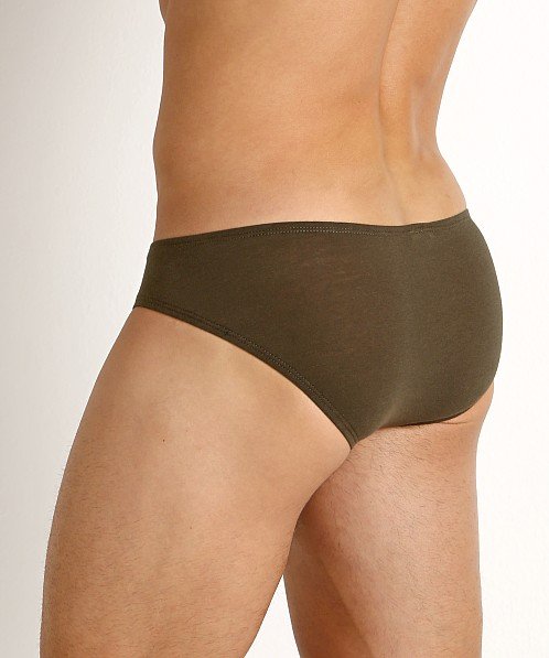 Rick Majors UltraLite Stretch Cotton Hip Brief Olive