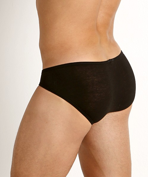 Rick Majors UltraLite Stretch Cotton C-Ring Brief Black