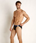 Jack Adams Ibiza Swim Brief Black, view 1