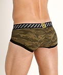 Private Structure Soho Camou Trunk Green Camouflage, view 4