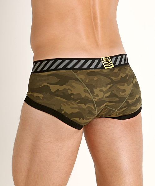 Private Structure Soho Camou Trunk Green Camouflage