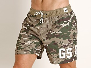 G-Star Dirik Swim Shorts Khaki