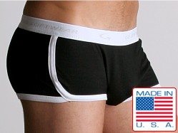 Go Softwear Retro Shorts Black/White