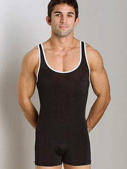 Pistol Pete Speed Wrestling Singlet Black