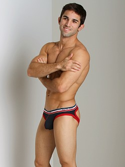 Pistol Pete Rookie Jock Brief Navy