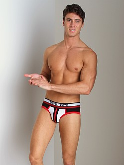 Pistol Pete Zone Brief Black/Red