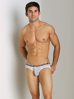 Pistol Pete Web Mesh Brief White