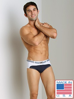 Pistol Pete Cruise Swim Brief Navy