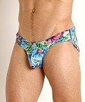 Rick Majors Low Rise Swim Brief Island Flowers, view 3