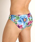 Rick Majors Low Rise Swim Brief Island Flowers, view 4