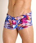 Rick Majors Low Rise Swim Trunk Glo Flo, view 3