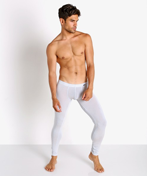 Olaf Benz Pearl 2058 Sheer Lines Leggings White