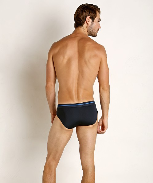 Emporio Armani Microfiber Sailor Brief Marine