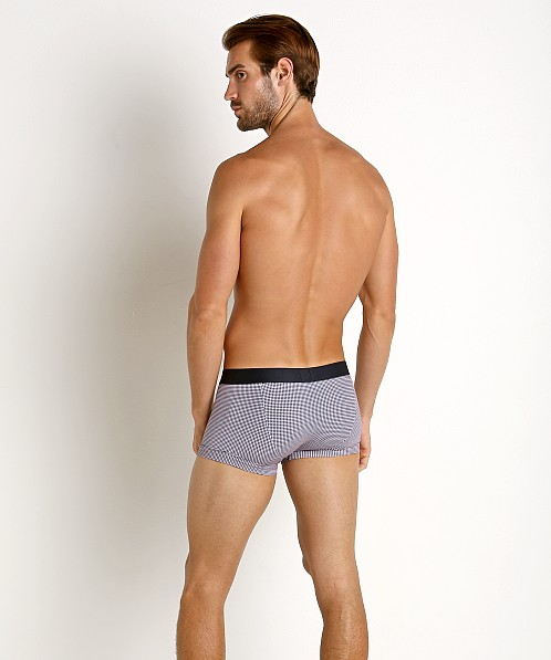 Emporio Armani Pattern Mix Trunk Marine Circles White