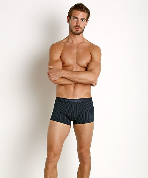 Emporio Armani Pattern Mix Trunk Marine Stripe