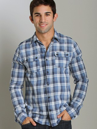 Complete the look: Joe's Jeans Relax Double Flap Pocket Shirt Navy