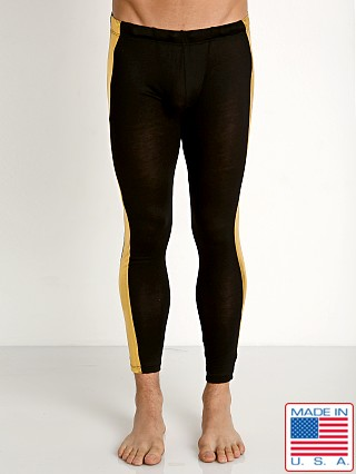 Go Softwear Hard Core Golden Leggings Black/Gold