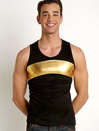 Complete the look: Go Softwear Hard Core Golden Galactic Tank Black/Gold