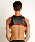 Go Softwear Fetiche Pleather Harness Black/Red, view 4