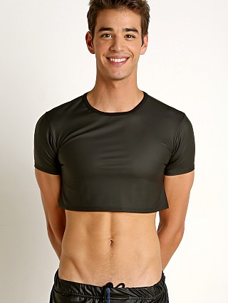 You may also like: Go Softwear Fetiche Pleather Half Tee Black