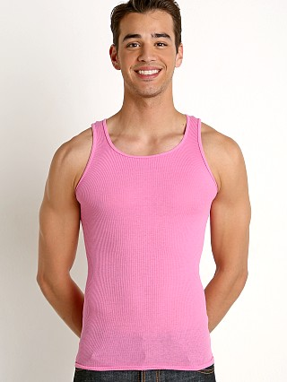 Complete the look: Go Softwear California Guy Ribbed Tank Top Deep Pink