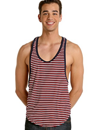 You may also like: Go Softwear Il Lago Striped Athletic Tank Red Combo
