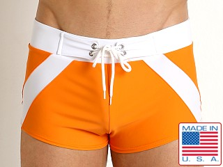 Go Softwear Aegean Swim Trunk Orange/White