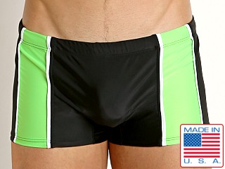 Go Softwear Tropix C-Ring Swim Trunk Black/Lime