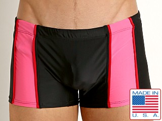 Go Softwear Tropix C-Ring Swim Trunk Black/Pink