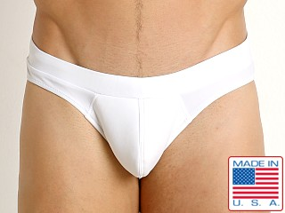 Go Softwear Santorini Padded Swim Brief White