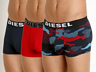 Complete the look: Diesel Shawn Trunk 3-Pack Camo/Navy/Red