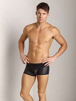 Gregg Homme Impulse Boxer Briefs Leather-Look Black