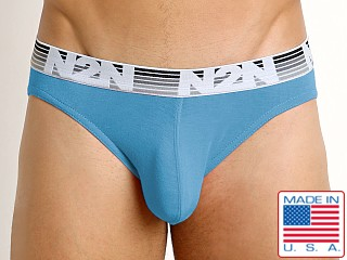 N2N Bodywear Mojave Spring Enhancing Brief Blue