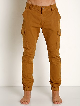 2xist Military Jogger Pants Bronze Brown