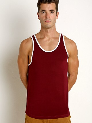 2xist Flecked Sport Tank Top Tawny Port