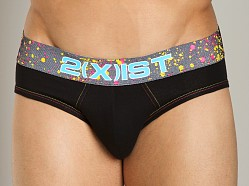2xist Splash No-Show Brief Black