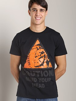 Diesel T-Caution T-Shirt Black