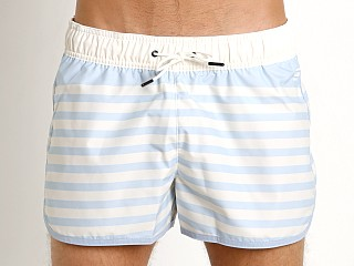 G-Star Dend Ohna Nylon Stripe Swim Shorts Lt Wave