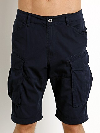 Complete the look: G-Star Rovic Cargo Shorts Dk Police Blue
