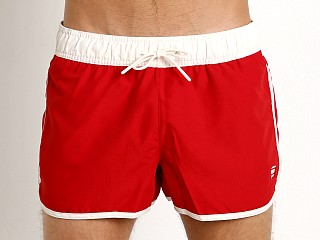 Complete the look: G-Star Dend Ohna Nylon Swim Shorts Dk Flame
