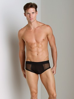 Bon Bon Bodywear Classic Mesh Brief Black