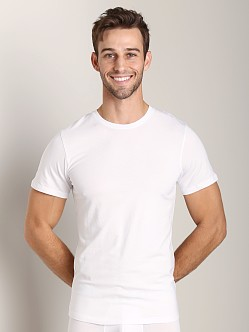 NKD Cotton Modal Crew Neck T-Shirt White
