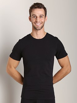 NKD Cotton Modal Crew Neck T-Shirt Black